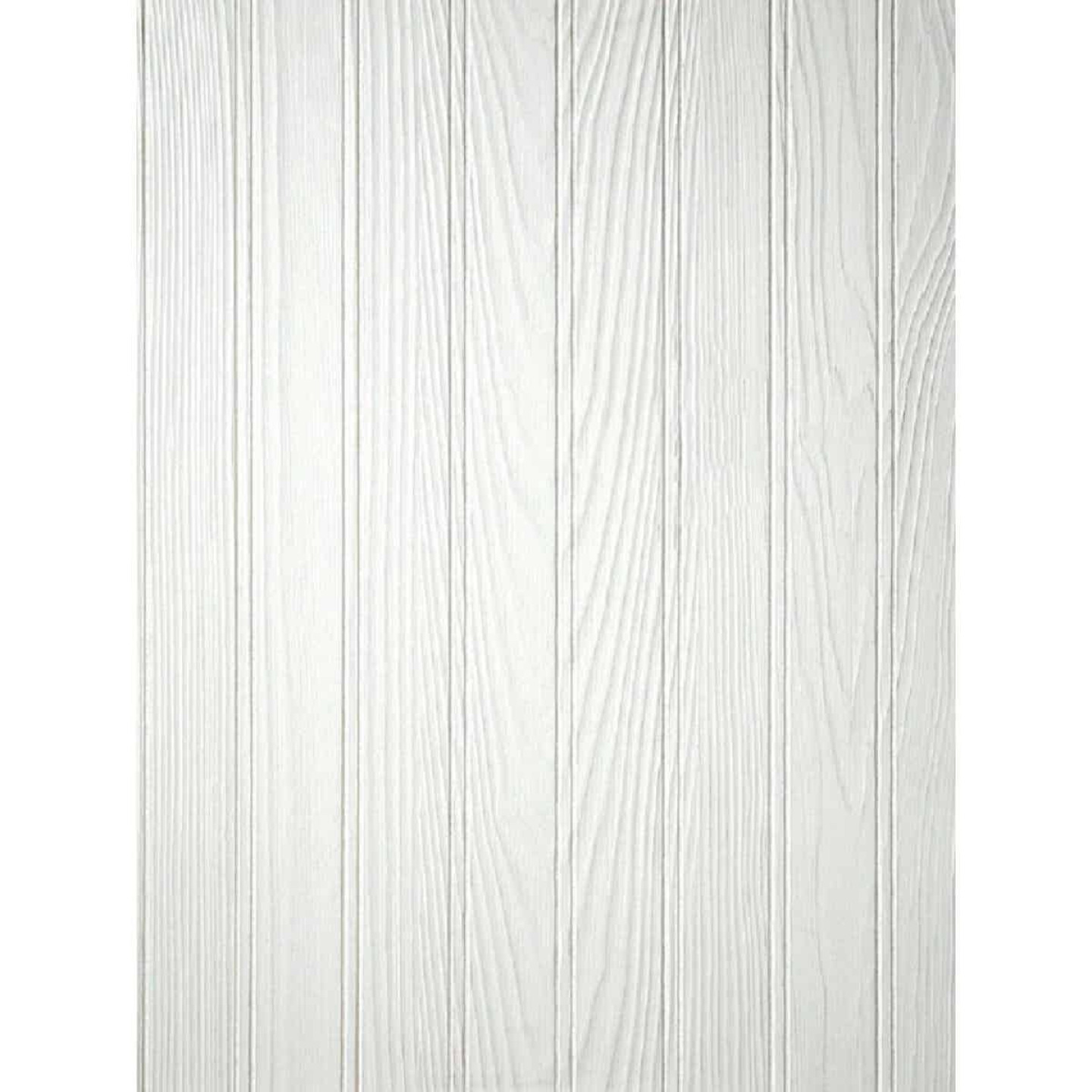 DPI 4 Ft. x 8 Ft. x 3/16 In. Paintable White Beaded Pinetex Wall Paneling Image 1