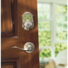 Kwikset Signature Series SmartCode Satin Nickel Electronic Deadbolt Image 4