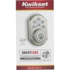 Kwikset Signature Series SmartCode Satin Nickel Electronic Deadbolt Image 8