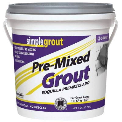 Custom Building Products Simplegrout Gallon Sandstone Pre-Mixed Tile Grout