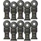 Imperial Blades Starlock 1-3/8 In. 14 TPI Precision Wood Oscillating Blade (10-Pack) Image 1