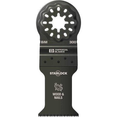 Imperial Blades Starlock 1-3/8 In. 18 TPI Wood/Nail Oscillating Blade