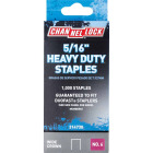 Channellock No. 6 Heavy-Duty Wide Crown Staple, 5/16 In. (1000-Pack) Image 1