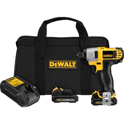 DeWalt XTREME 12V MAX XR Lithium-Ion 1/4 In. Hex Brushless Cordless Impact Driver Kit