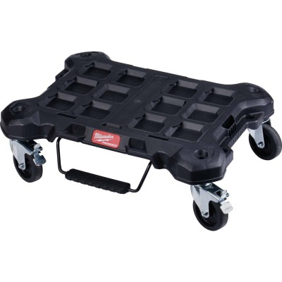 Milwaukee PACKOUT 18.8 In. W x 24.4 In. L Platform Cart, 250 Lb. Capacity