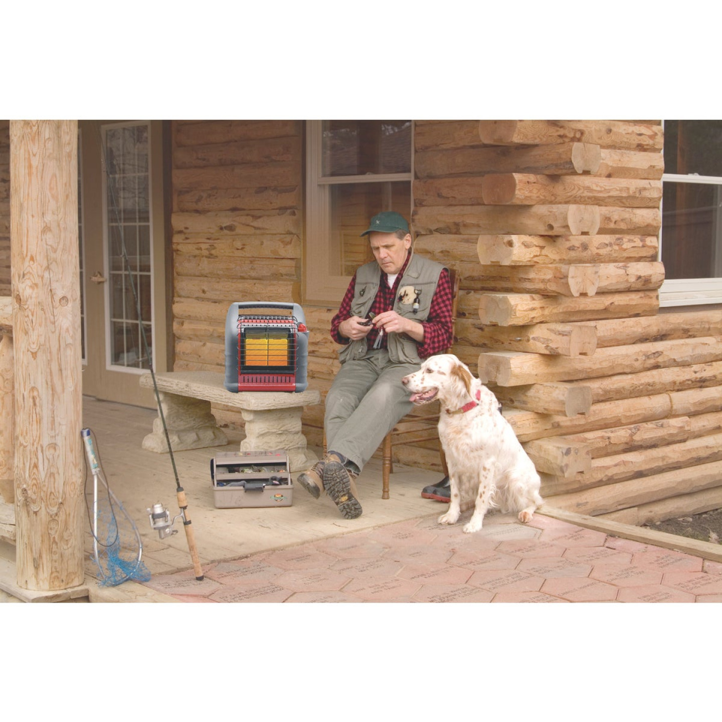 MR. HEATER 18,000 BTU Radiant Big Buddy Propane Heater Image 4