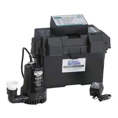 The Basement Watchdog Special Backup Sump Pump