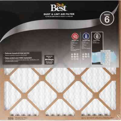 Do it Best 16 In. x 16 In. x 1 In. Dust & Lint MERV 6 Furnace Filter