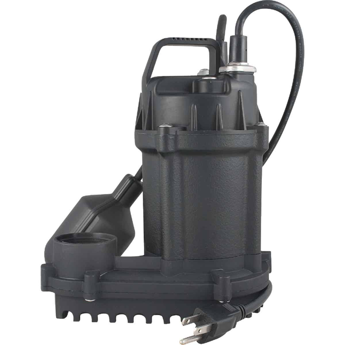 Do it Best 1/3 HP 115V Cast-Iron Submersible Sump Pump Image 1