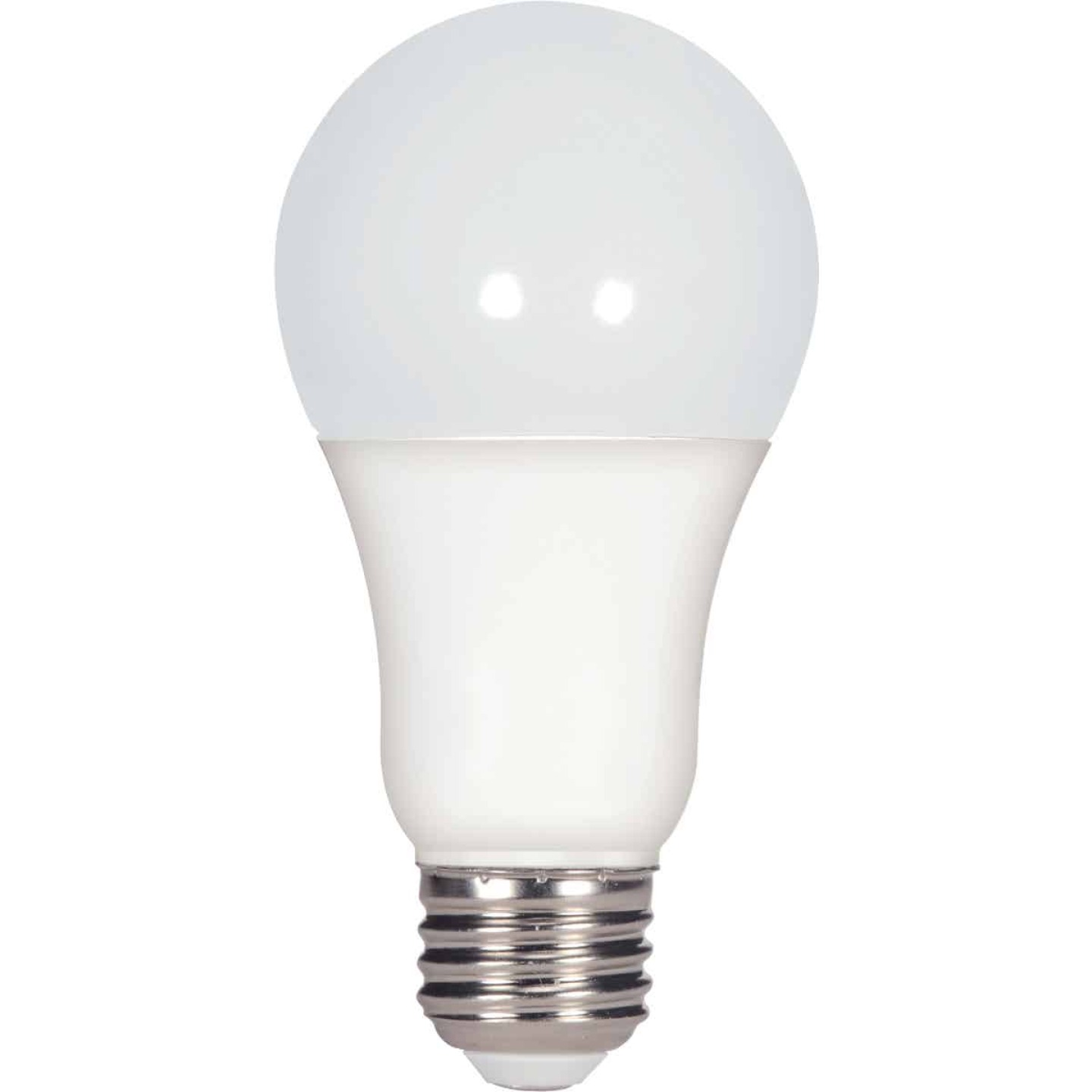 Satco 100W Equivalent Warm White A19 Medium Dimmable LED Light Bulb Image 1