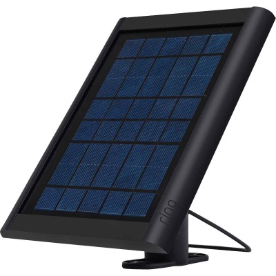 Ring 2W 6V Black Spotlight Cam Solar Panel