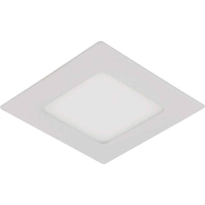 Liteline Trenz ThinLED 4 In. New Construction/Remodel IC White 610 Lm. 4000K Square Recessed Light Kit