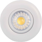 Liteline Trenz Retina 3 In. New Construction/Remodel IC Rated White 3000K Gimbal Recessed Light Kit Image 1