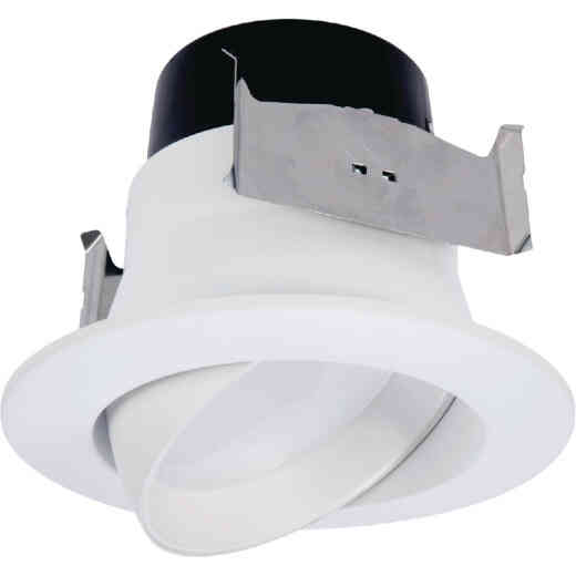 Halo 4 In. Retrofit White LED Recessed Light Kit, 613 Lm. (Title 20 Compliant)