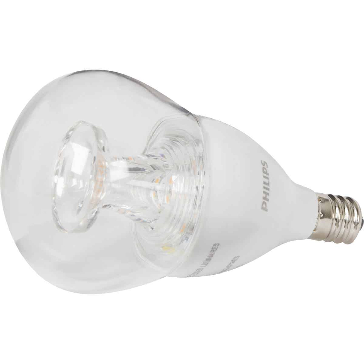 Philips Warm Glow 40W Equivalent Soft White A15 Candelabra Dimmable LED Light Bulb Image 3