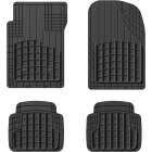 WeatherTech Trim-to-Fit Black Rubber Heavy-Duty Floor Mat (4-Piece) Image 1