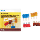 Bussmann ATL (Micro III) Fuse Assortment with Fuse Puller (4-Piece) Image 1