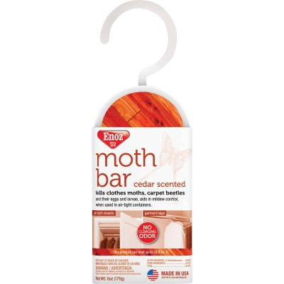 Enoz 18.8 Cu. Ft. Coverage Cedar Moth Bar (2-Pack)