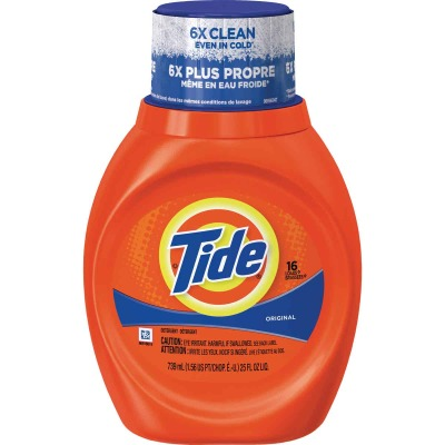Tide 25 Oz. 16 Load Liquid Laundry Detergent