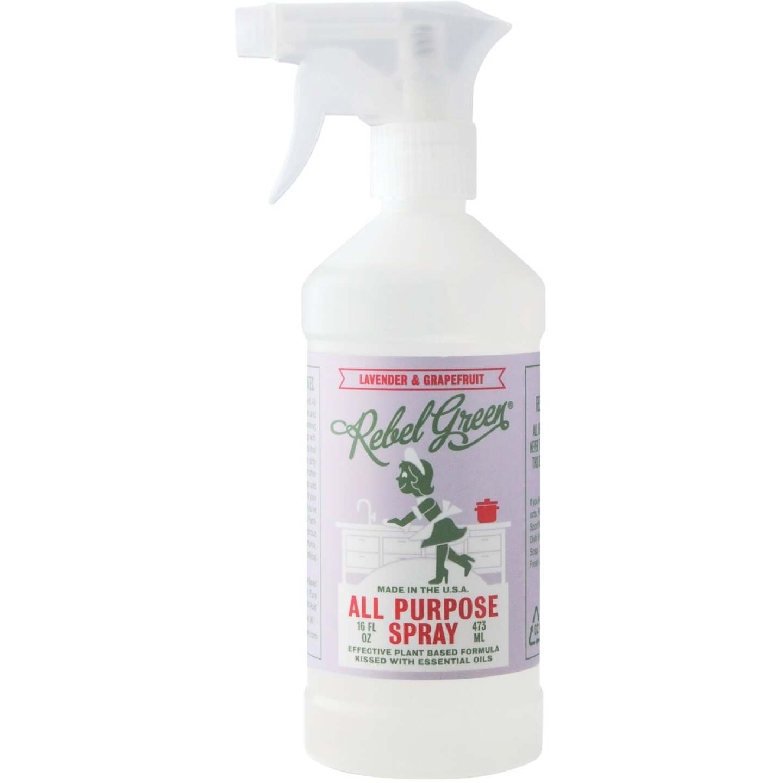 Rebel Green 16 Oz. Lavender & Grapefruit Natural All-Purpose Spray Image 1