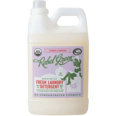 Rebel Green 64 Oz. 64-Load Lavender & Grapefruit Laundry Detergent