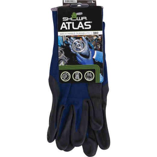 Showa Atlas Men's Large Comfort Grip Nitrile Coated Glove
