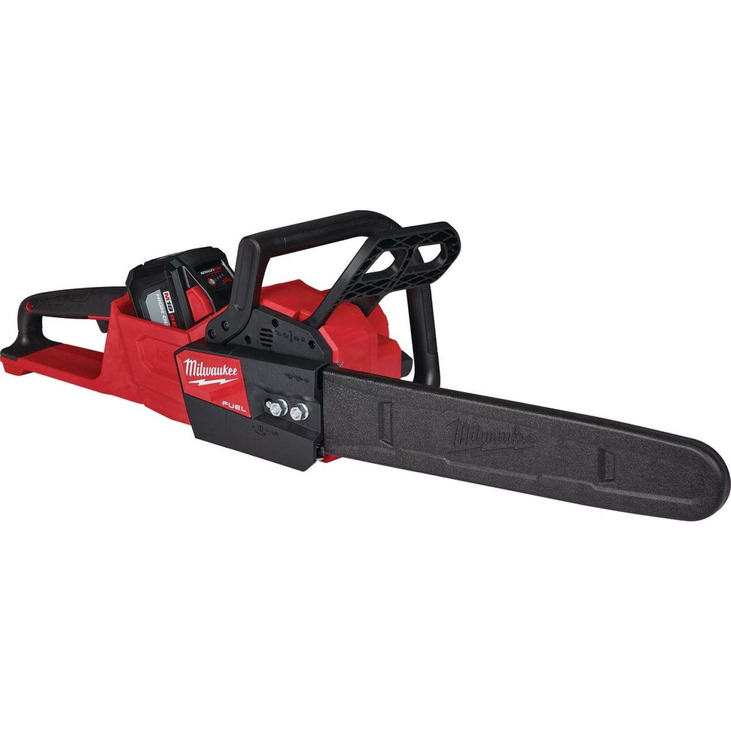 Milwaukee M18 FUEL 16 In. 18V Lithium Ion Cordless Chainsaw Kit Image 4