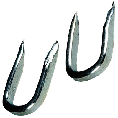 Hillman Anchor Wire 1/2 In. 11 ga Blued Fence Staple (6 Ct., 1.5 Oz.)