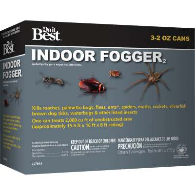 Do it Best 2 Oz. Indoor Insect Fogger (3-Pack)