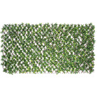 Naturae Decor Priva Hedge Willow Trellis with Gardenia Leaves Image 1