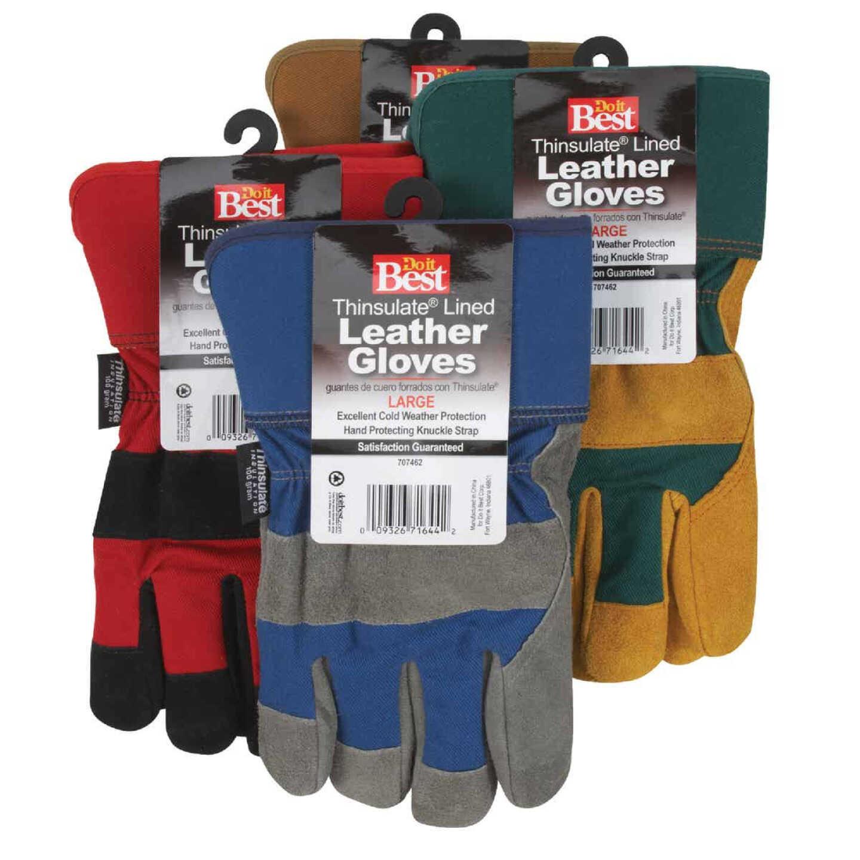 Do it Best Men's XL Leather Winter Work Glove Image 4