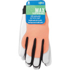 Midwest Gloves & Gear Women's Small Goatskin Leather Work Glove Image 2