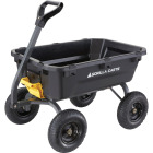 Gorilla Carts 6.5 Cu. Ft. 1200 Lb. Poly Tow-Behind Garden Cart Image 1