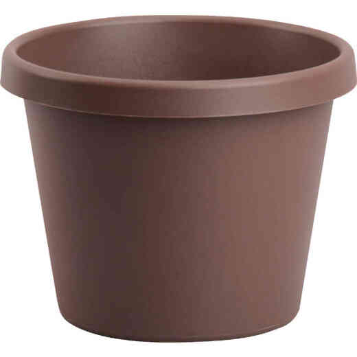 Bloem 20 In. Dia. Chocolate Poly Classic Flower Pot