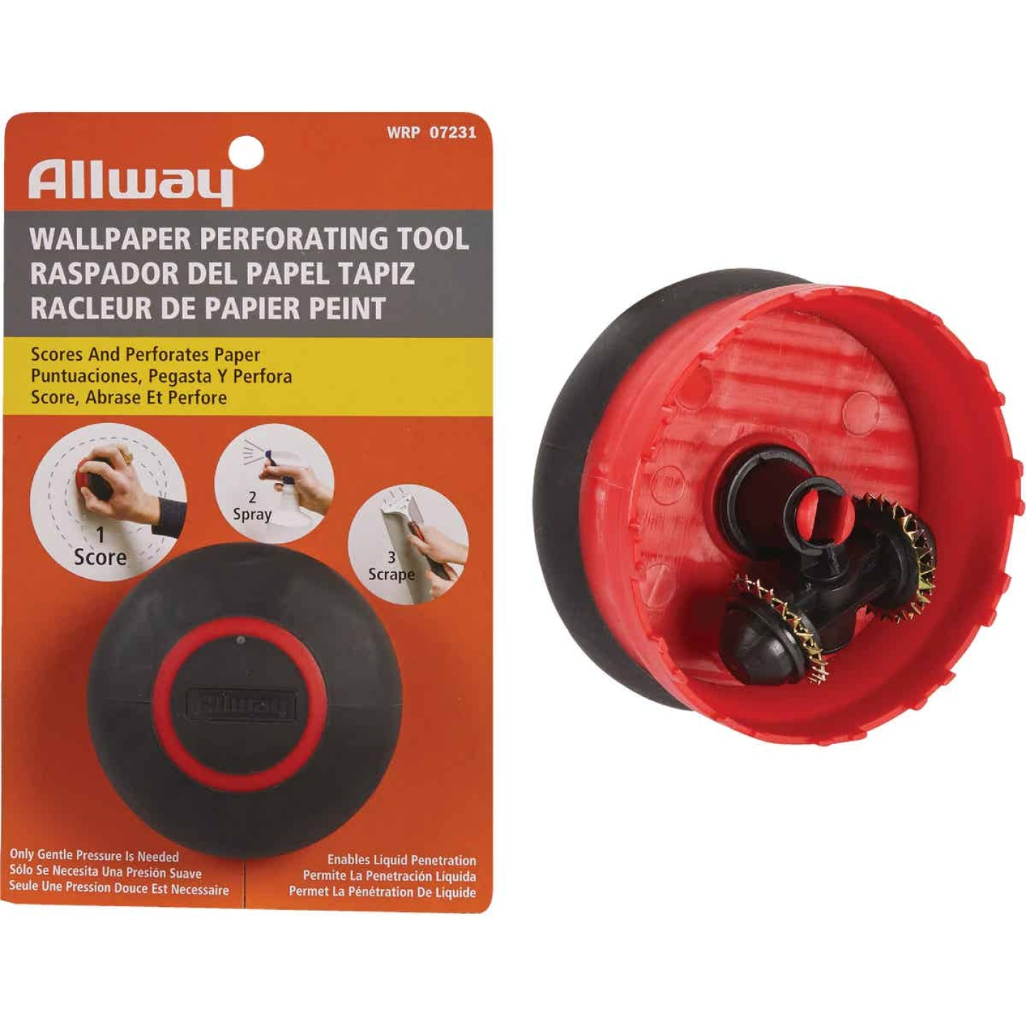 Allway Wallcovering Perforating Tool Image 1