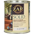 ZAR Solid Deck & Siding Stain, Light Tint Base, 1 Qt. Image 1