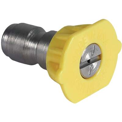 Mi-T-M 4.0mm 15 Degree Yellow Pressure Washer Spray Tip