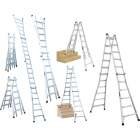 Werner 26 Ft. Aluminum Multi-Position Telescoping Ladder with 300 Lb. Load Capacity Type IA Ladder Rating Image 1