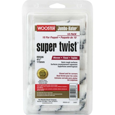 Wooster Jumbo-Koter Super Twist 4-1/2 In. Roller Cover (10-Pack)