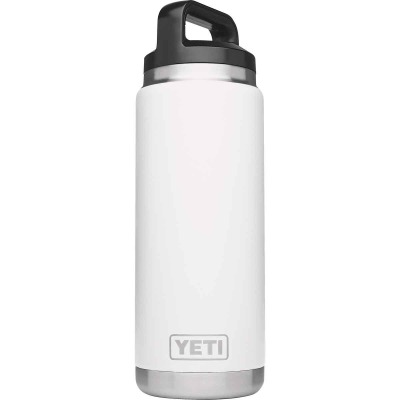Yeti Rambler 26 Oz. White Stainless Steel Insulated Vacuum Bottle