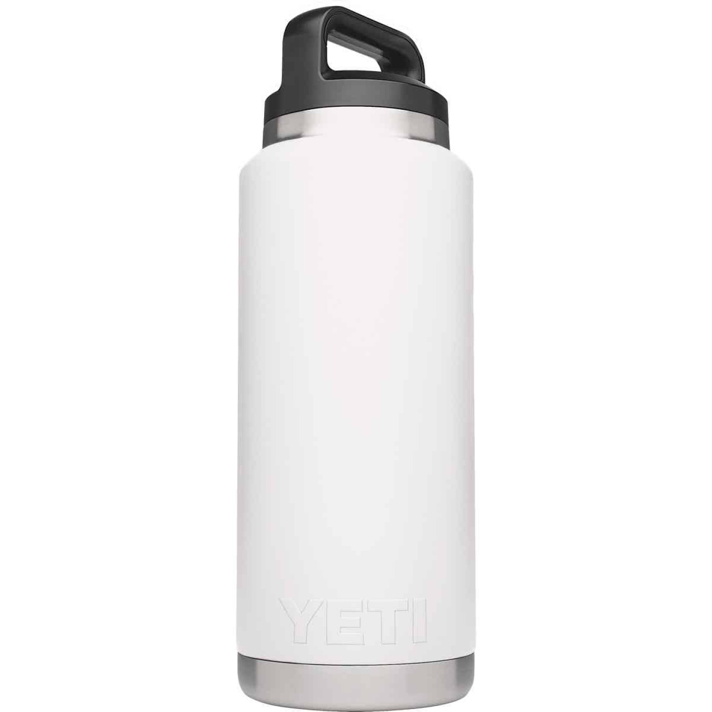 Yeti Rambler 36 Oz. White Stainless Steel Insulated Vacuum Bottle Image 1