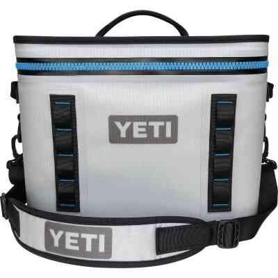 Yeti Hopper Flip 18, 20-Can Soft-Side Cooler, Gray