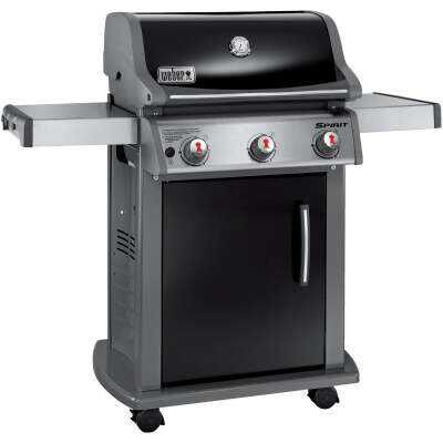 Weber Spirit E-310 3-Burner Black 32,000-BTU LP Gas Grill
