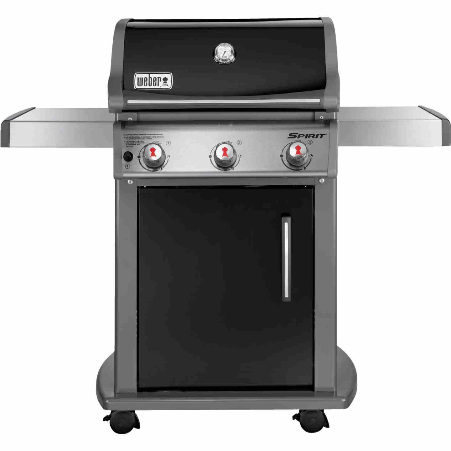 Weber Spirit E-310 3-Burner Black 32,000-BTU LP Gas Grill Image 5