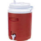Rubbermaid Victory 2 Gal. Red Water Jug Image 1