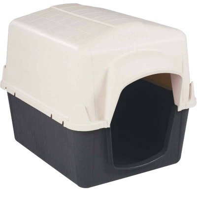 Petmate PetBarn III Almond & Cocoa Large Dog House For 50 to 90 Lb. Dogs