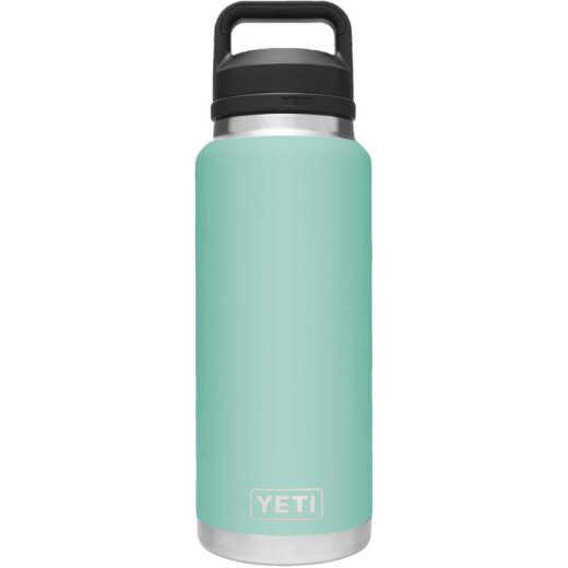 Yeti Rambler 36 Oz. Seafoam Stainless Steel Insulated Vacuum Bottle with Chug Cap