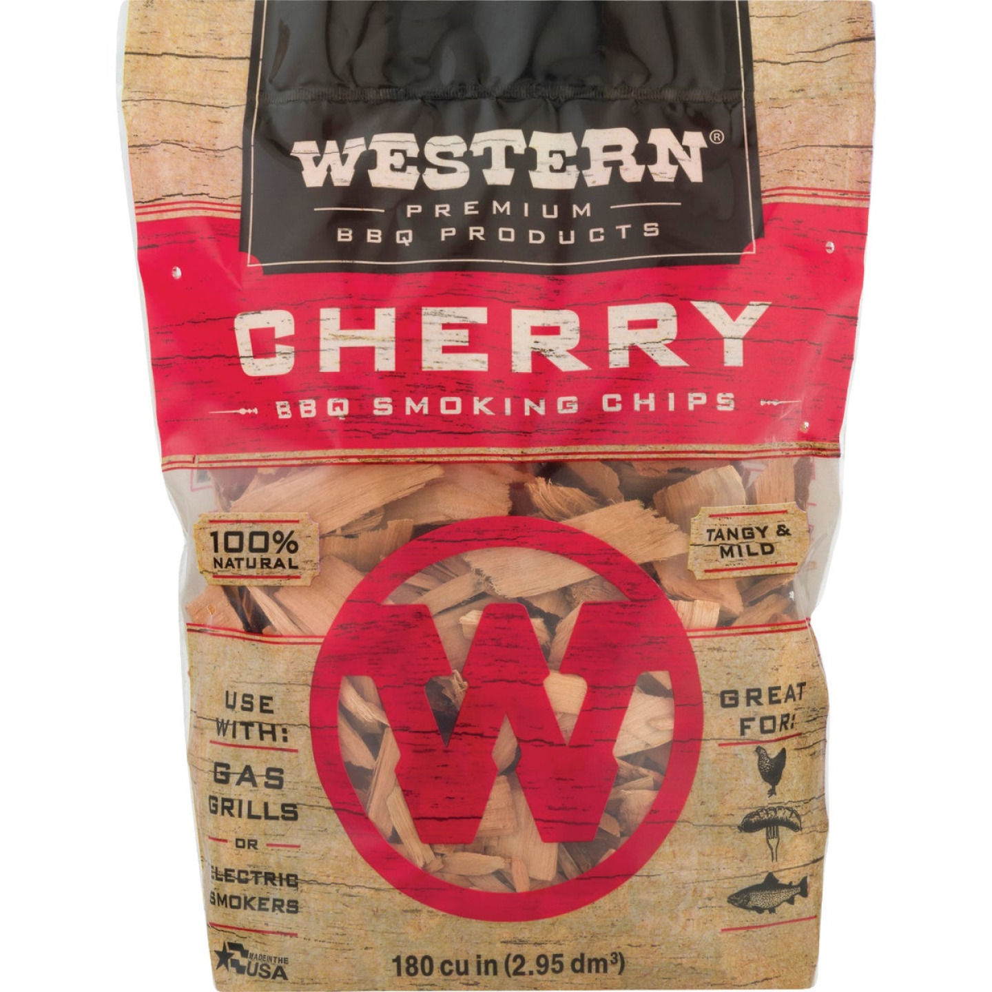 Western 2 Lb. Cherry Wood Smoking Chips Image 3